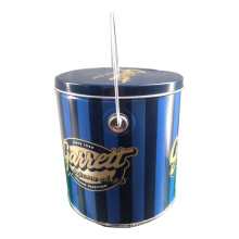 Tubby Metal Popcorn Tin Box & Tin Bucket Series Seau Étain